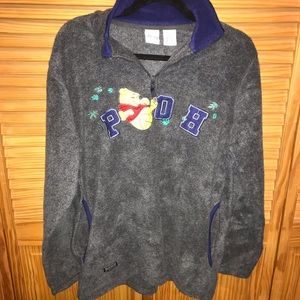 Fleece Pooh Bear Sweater